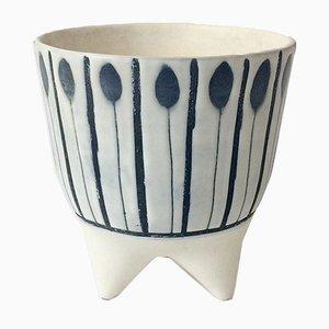 Französische Molaire Vase von Roger Capron, 1950er