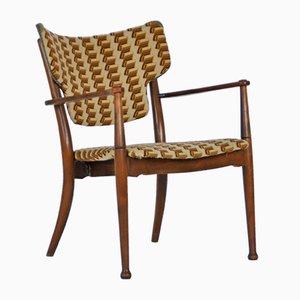 Beech Armchair by Peter Hvidt & Orla Mølgaard-Nielsen for Portex, 1940s