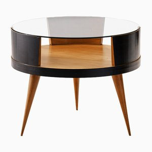 Mesa de centro brasileña de madera caviuna de Martin Eisler para Forma, años 50