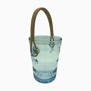 Glass Ice Bucket by Holmegaard for Royal Copenhagen, 1960s