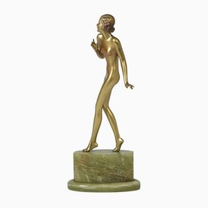 Art Deco Bronze Sculpture by Josef Lorenzl, 1930s