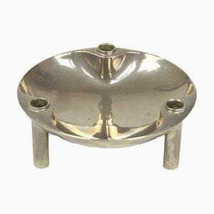 Base de candelabro redonda de Fritz Nagel, años 70