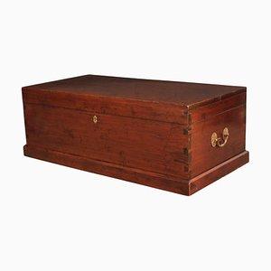 19th-Century Mahogany Storage Box, 1880s