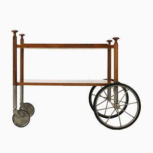 Walnut Trolley from Wilhelm Renz, 1960s