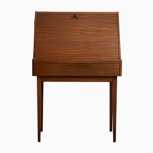 Scandinavian Secretaire with Spindle Feet, 1960s