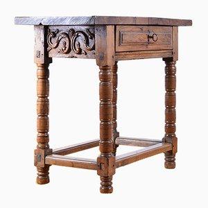 Table ou Bureau Antique en Noyer