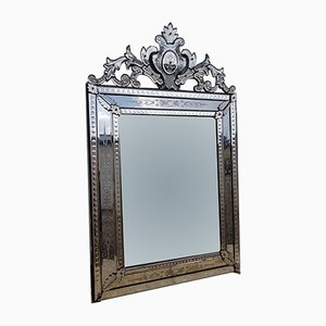 Antique Venetian Style Bubble Mirror