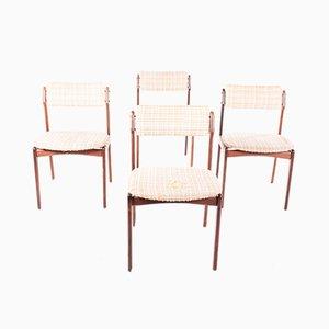 Chaises de Salle à Manger Mid-Century par Erik Buch pour Circa, Danemark, Set de 6