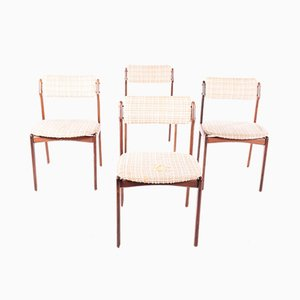 Mid-Century Danish Dining Chairs by Erik Buch for Circa, Set of 6