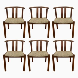 Stühle aus Teak von Mobelfabrik Uldum, 1960er, 6er Set