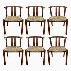 Teak Chairs from Mobelfabrik Uldum, 1960s, Set of 6