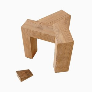 Post Triskel Stool by David Enon for Jean-Noël Robic