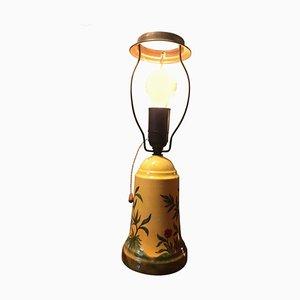 Handbemalte Tischlampe von Jens Peter Dahl-Jensen, 1930er