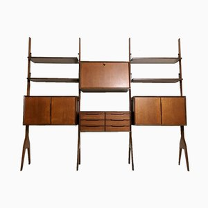 Modular Shelving Unit by Vittorio Dassi, 1950s