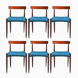 Vintage Dining Chairs from Mogens Kold, 1960s, Set of 6