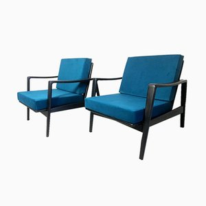 Vintage Easy Chairs by Arne Wahl Iversen, 1960s, Set of 2