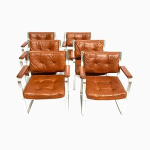 Mid-Century Model Mondo Chairs by Karl Erik Ekselius for Joc Vetlanda, 1970s, Set of 6