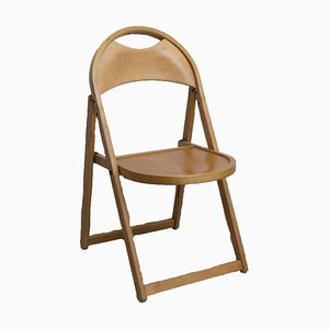 Vintage Model 751 Pinewood Folding Chair from Thonet, 1970s