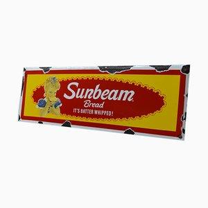 Cartel de Sunbeam vintage esmaltado