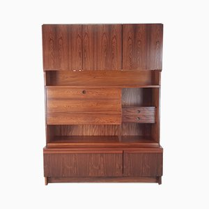 Vintage Rosewood Wall Unit by Robert Heritage for Archie Shine, 1960s