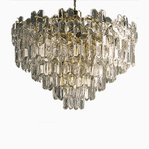 Vintage Palazzo 7-Row Chandelier by J.T. Kalmar for Kalmar, 1970s