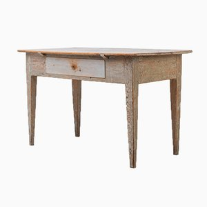 Gustavian Swedish Folk Art Table