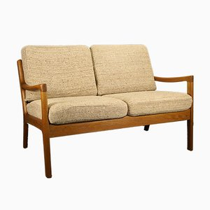Vintage Model Senator 2-Seater Sofa by Ole Wanscher for Cado