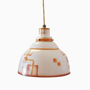 Vintage Pendant Lamp from Jenaer Glas, 1920s