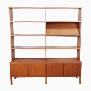 Swedish Teak Bookcase, 1960s