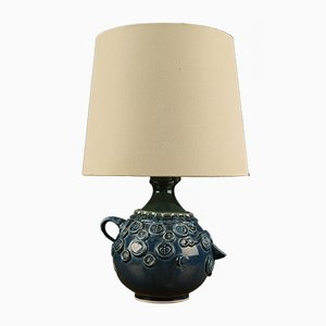 Lámpara de mesa Mid-Century azul de Bjørn Wiinblad para Rosenthal