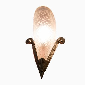 Art Deco Wall Sconce, 1940s