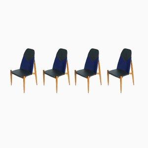 Mid-Century Chairs by Miroslav Navratil, 1960s, Set of 4