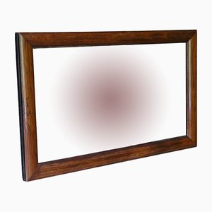 Victorian Rosewood Overmantle Wall Mirror, 1890s