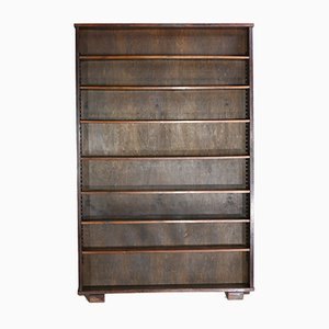 Large Vintage Oak Bookcase