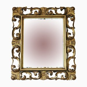 19th Century Italian Gilt Overmantle or Wall Mirror