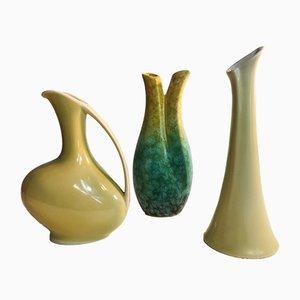 Keramikgefäße von Alka Germany, 1960er, 3er Set