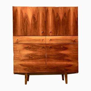 Furnierter Vintage Kleiderschrank von Bytom Furniture, 1970er