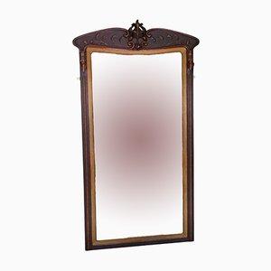 Espejo de pared modernista grande, años 10