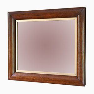 Victorian Rosewood Overmantle or Wall Mirror, 1890s