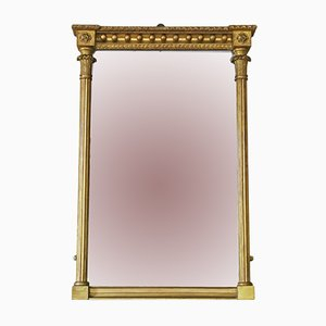 Regency Wandspiegel mit vergoldetem Rahmen, 1820er