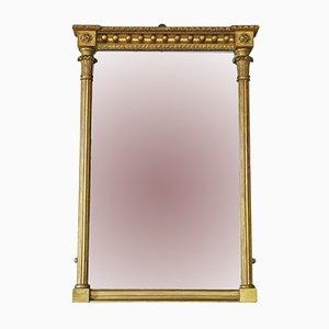 Specchio a muro Regency dorato, inizio XIX secolo