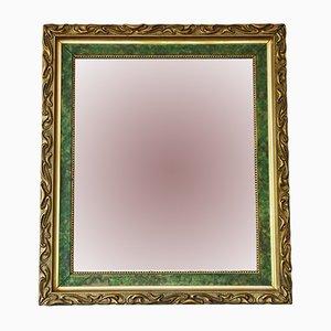 Antiker Spiegel mit vergoldetem Rahmen im Jugendstil, 1910er