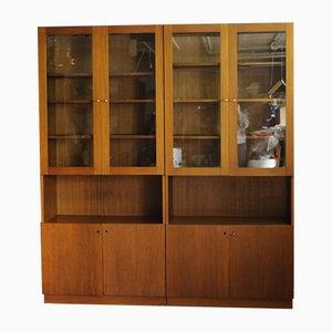 Vintage Display Cabinets, 1960s, Set of 2