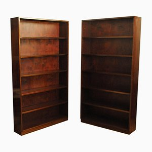Mahogany Bookcases, 1960s, Set of 2