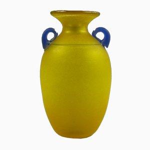 Murano Scavo Vase by Franco Moretti, 1980s