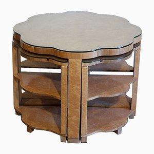 Tables Gigognes Art Déco par Harry & Lou Epstein