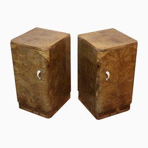 Tables de Chevet Art Déco, Set de 2