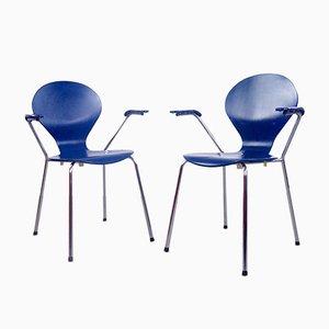 Rondo Chairs by Erik Jørgensen for Danerka, 1980s, Set of 2