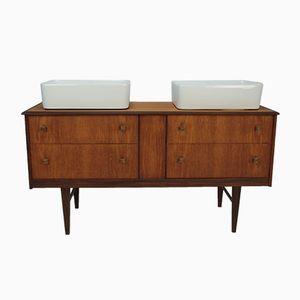 Vintage Waschbeckenschrank von Homeworthy, 1960er