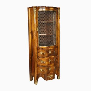 French Rosewood & Mahogany Display Cabinet, 1920s